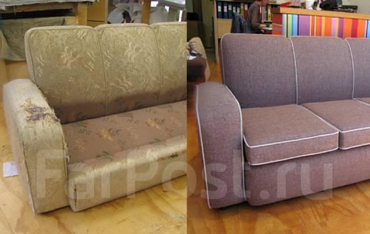 Реставрация мягкой мебели (31 фото): как обновить старую мебель своими руками? результат до и после