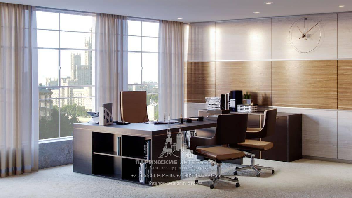 Дизайн интерьера офиса, планировка - фото примеров