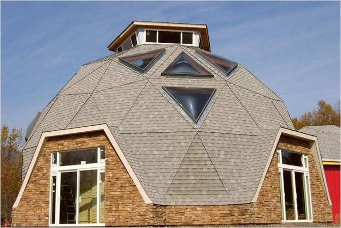 Как сделать круглую крышу дома (конусная и купольная)