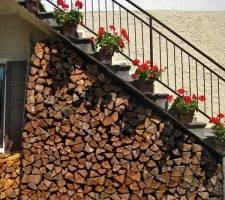 Как построить навес для дров на даче своими руками: фото и видео инструкция