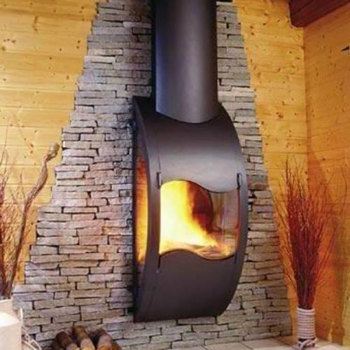 Круглый подвесной камин (83 фото): чем отличается каминная вытяжка от дымосборника из рроссии