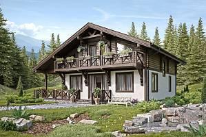 Комбинированные дома - основы проектирования и правильный выбор материалов для постройки