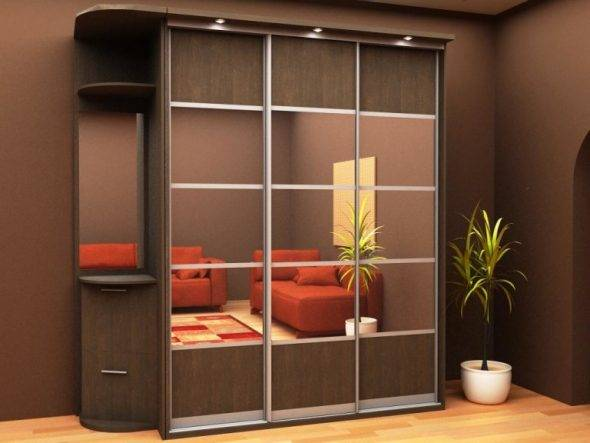 Сборка дверей шкафа-купе своими руками: видео и фото