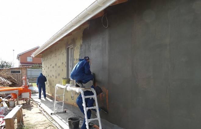 Штукатурка фасада по утеплителю – технология и рекомендации экспертов