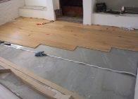 Как стелить ламинат на бетонный пол своими руками: этапы