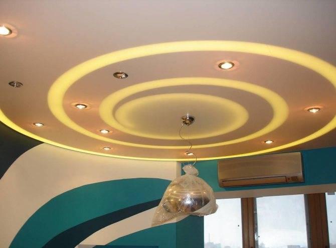 Монтаж двухуровневого натяжного потолка: установка профиля для двухуровневых конструкций своими руками, технология сборки потолка