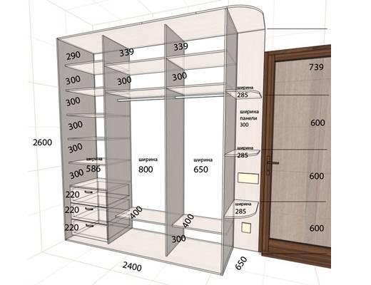 Дверь-купе своими руками: пошаговая инструкция