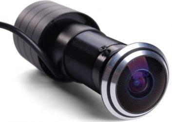 Камера видеонаблюдения в глазок двери: как выбрать и установить?