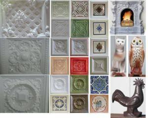 Огнеупорная плитка для печи: виды и варианты дизайна