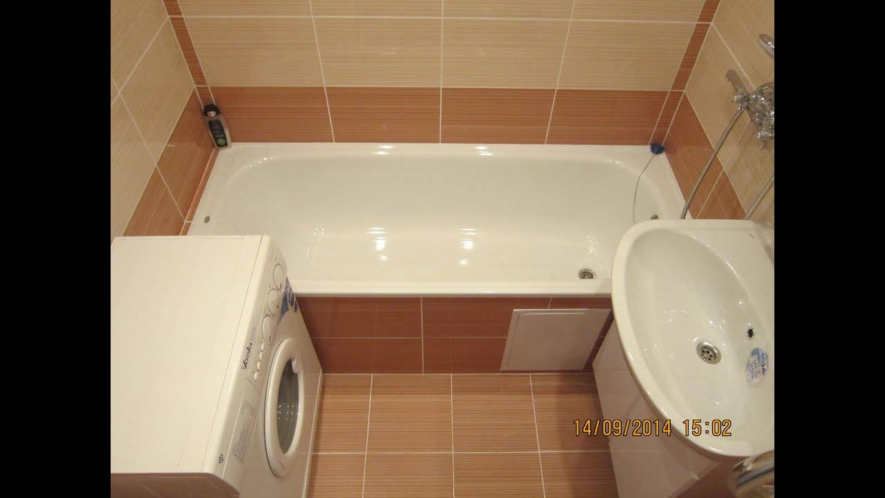 В нашем портфолио ознакомьтесь с фото ремонта ванной комнаты. все работы выполнены мастерами нашей бригады: