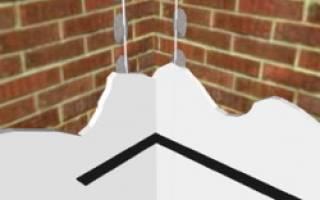 Как шпаклевать углы: как выровнять внутренние уголки конструкций