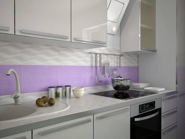 Рекомендации по укладке плитки «кабанчик» на фартук кухни