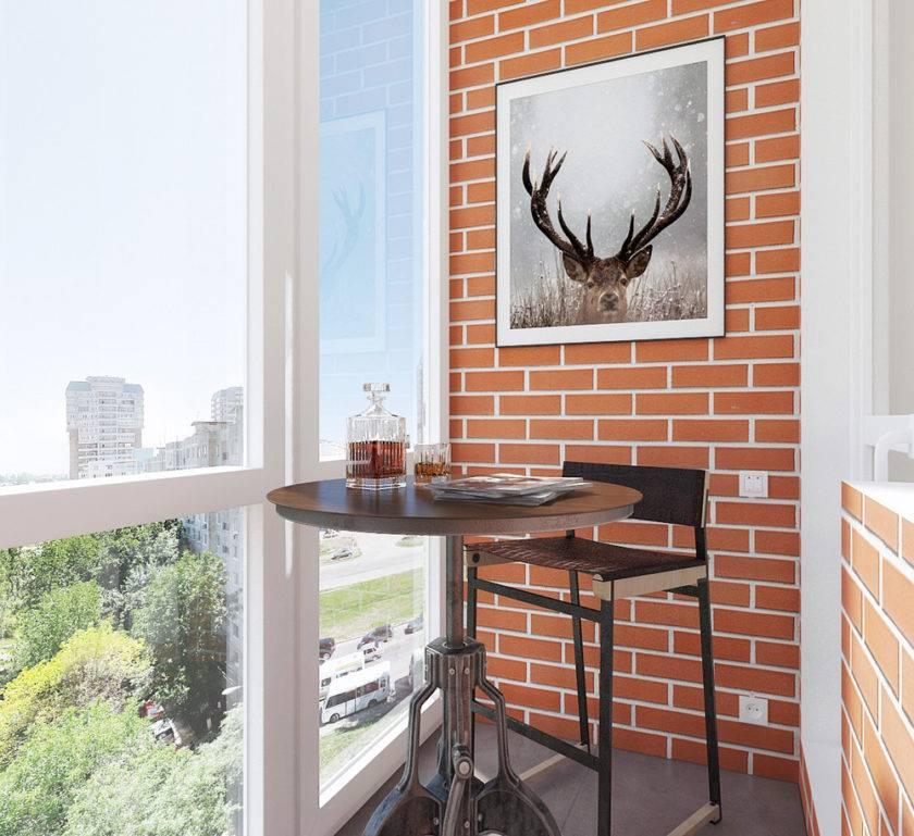 Стены на балконе: лучшие современные варианты отделки балконов (145 фото и видео)