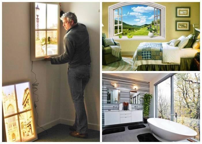 Как сделать фальш-окно с подсветкой своими руками?