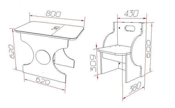 Детский столик своими руками (27 фото): сделать стол из дерева, чертежи и схемы