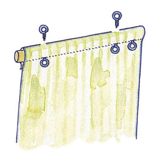 Рулонные шторы своими руками – пошаговая инструкция с фото