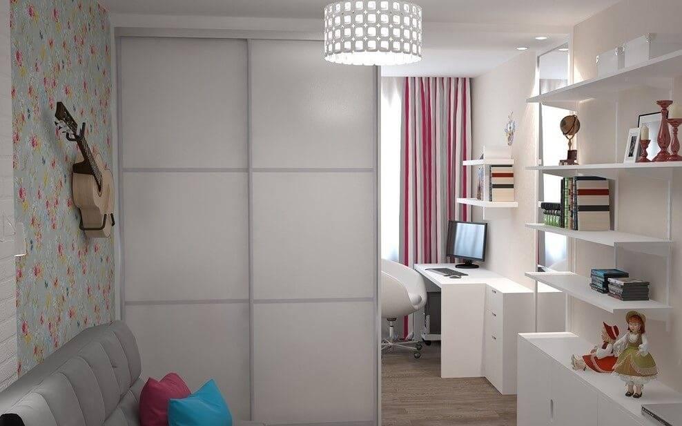 Шкаф-перегородка для разделения комнаты: идеи зонирования на фото - стильный и современный дизайн интерьера для вас