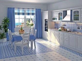 Кухня в стиле гжель – фото, идеи дизайна, практические советы