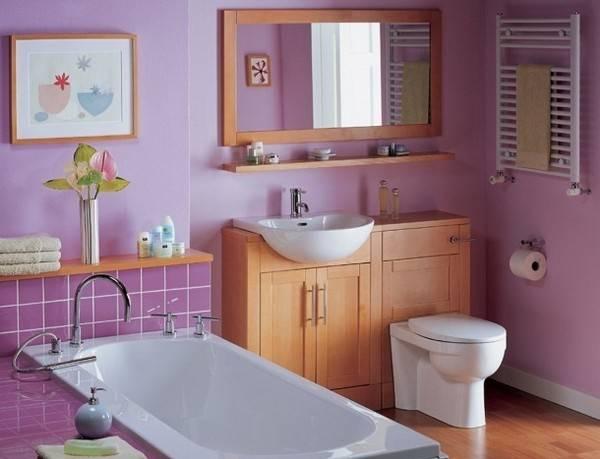 Жидкие обои для ванной комнаты: целесообразность использования