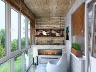 Дизайн балкона: обустройство, проекты и идеи интерьера