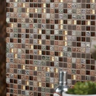 Плитка мозаика — оригинальные идеи укладки и формирование стильного дизайна (80 фото)