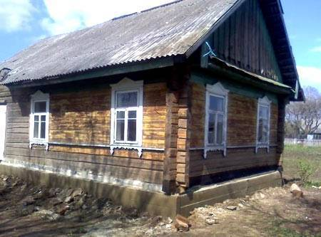 Как заменить фундамент деревянного дома своими руками