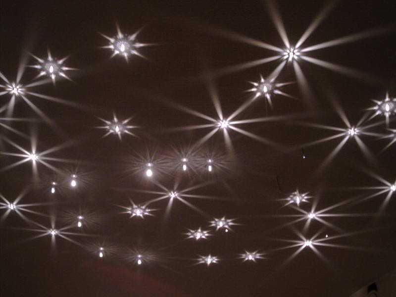 Светильники (софиты) потолочные - виды, расположение