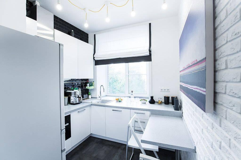 Дизайн малогабаритной кухни в хрущевке + 190 фото