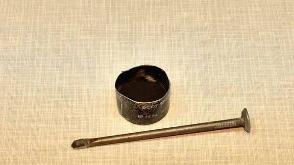 Сделал сверло из гвоздя – легко сверлит 5-миллиметровую сталь!