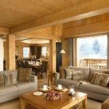 Дизайн интерьера в стиле шале: альпийский уют в квартире и доме