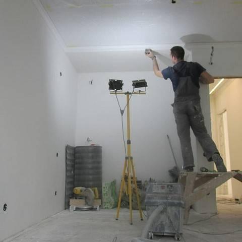 Шпаклевка потолка: как правильно шпаклевать своими руками, шпатлевка и выравнивание, как выровнять поверхность