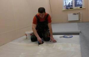 Укладка линолеума (67 фото): как правильно стелить и класть материал