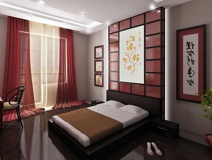 Спальня в японском стиле: дизайн интерьера (в тч маленькой комнаты) + фото