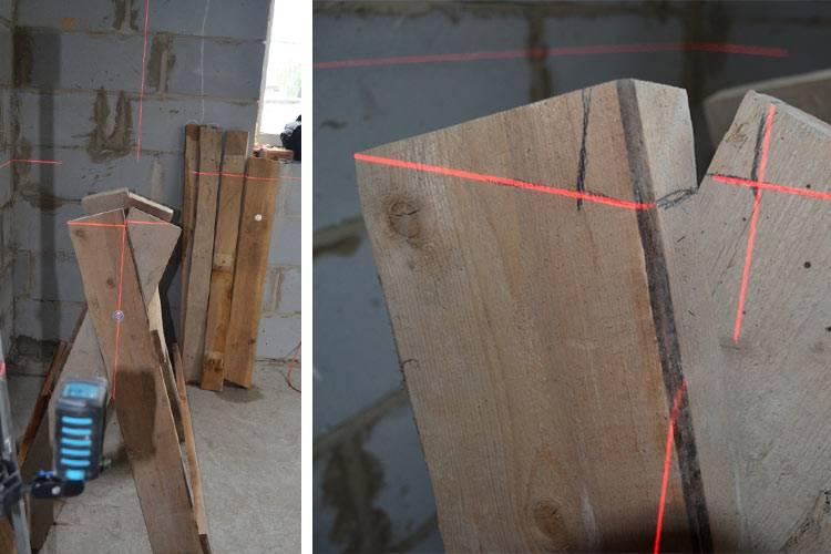 Как сделать строительный козлик своими руками