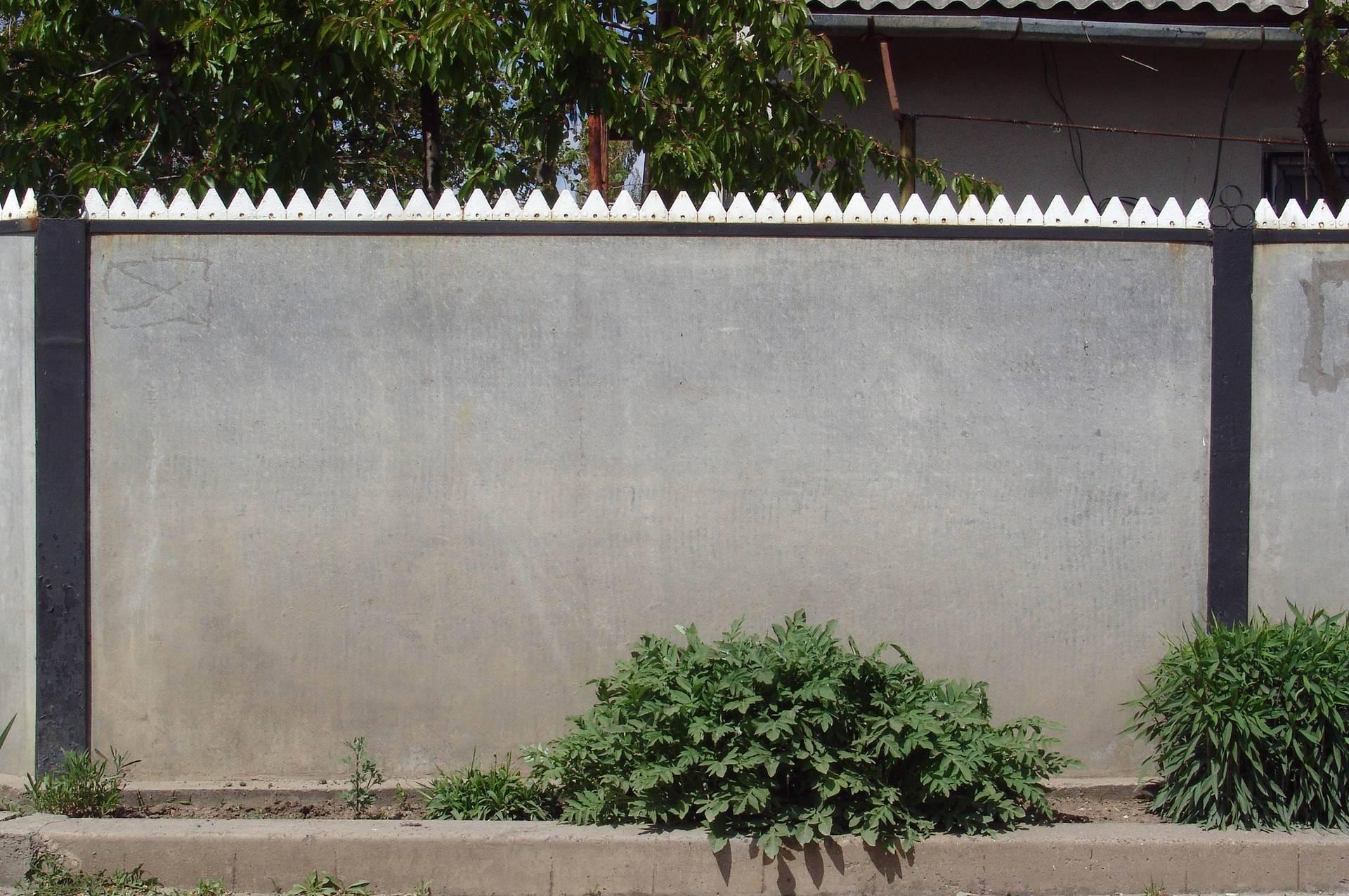 Забор из шифера своими руками (схема крепления шифера) фото, видео