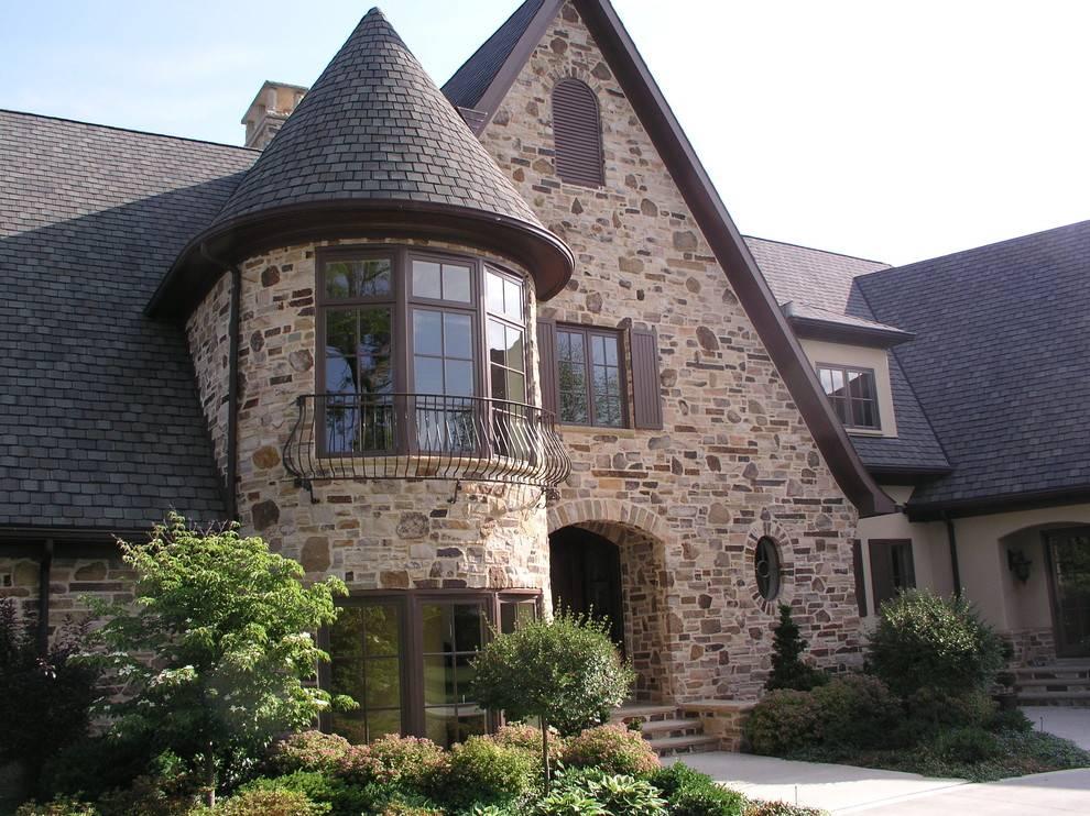 Дом в английском стиле: интерьеры, проекты и архитектура  - 22 фото
