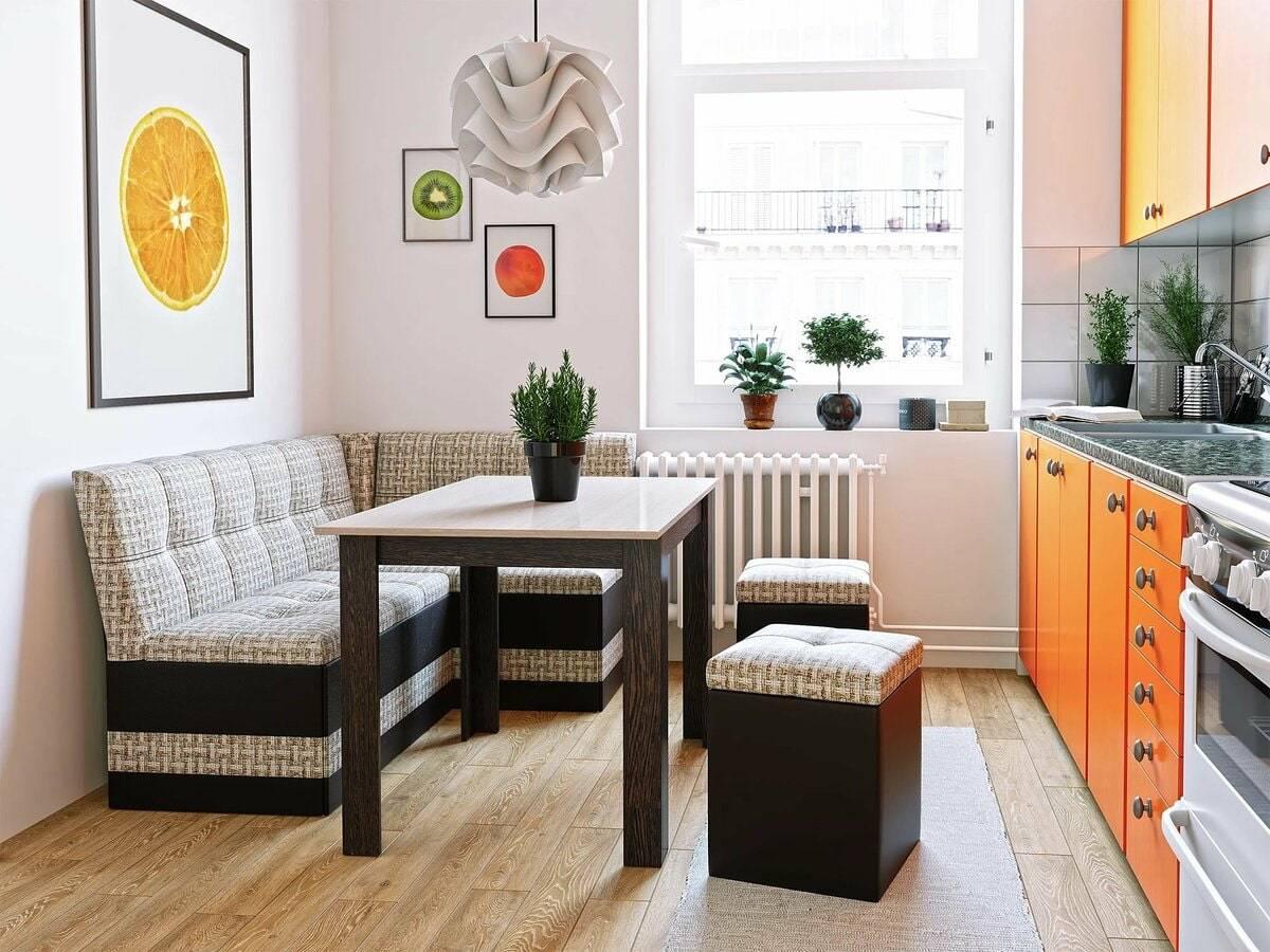 Кухонный уголок для кухни: плюсы и минусы, размеры, особенности конструкции