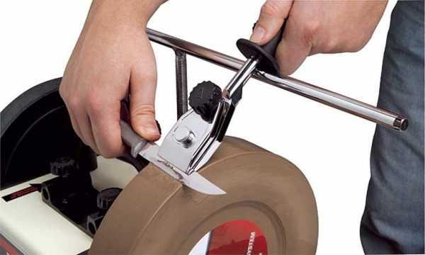 Приспособления для заточки ножей, устройство и изготовление