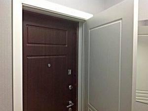 Стандартные размеры металлических входных дверей