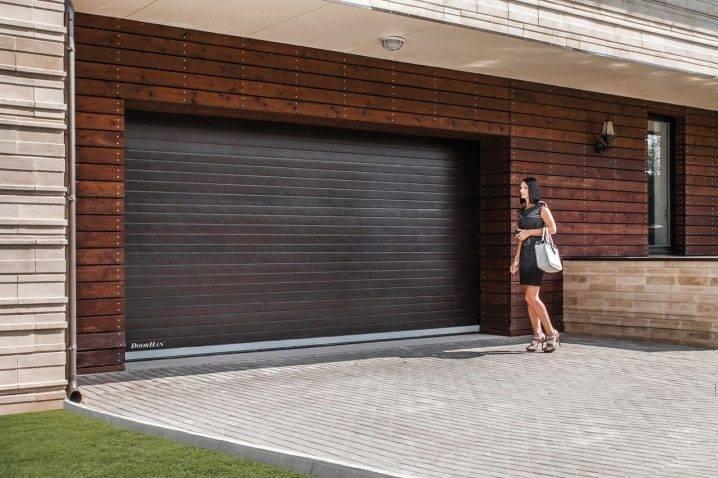 Ворота рольставни на гараж: фото, типы, важные моменты