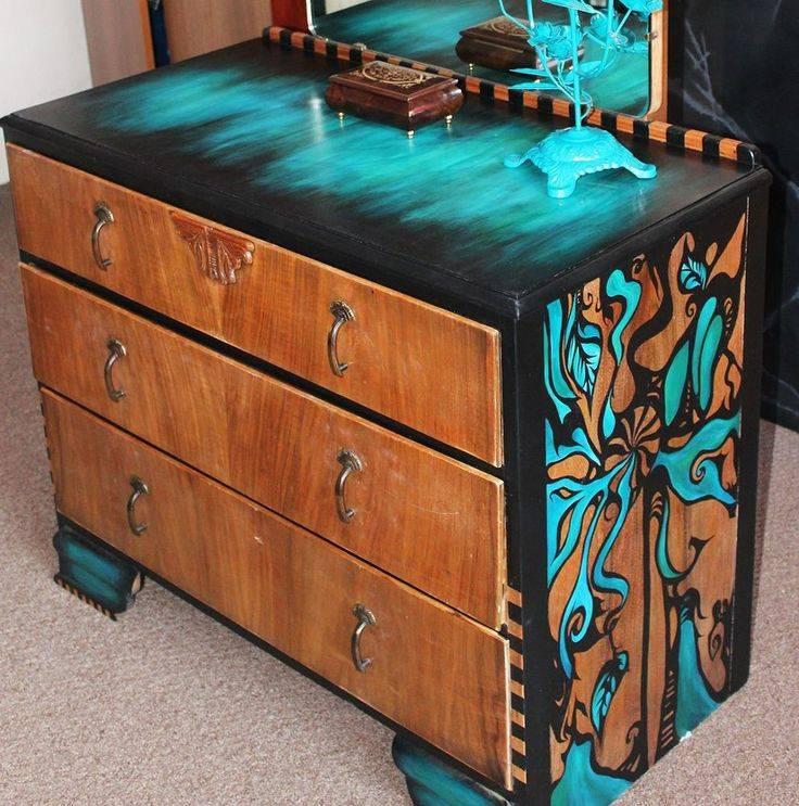 Реставрация мебели своими руками: пошаговая инструкция