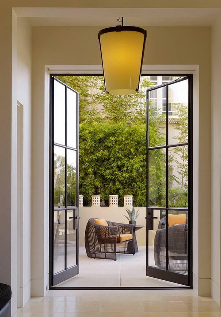 Идеи дизайна французских окон в интерьере (лучшие фото 2019)
