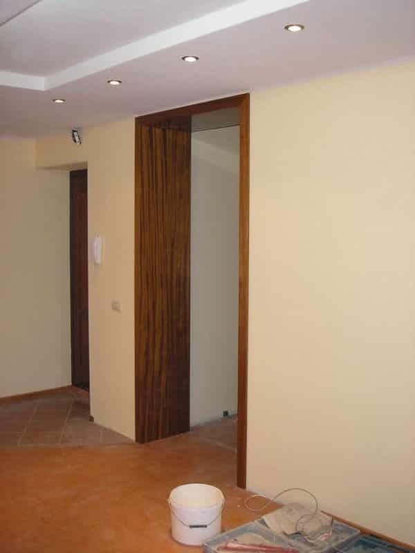 Оформление дверных проемов без дверей различными материалами своими руками