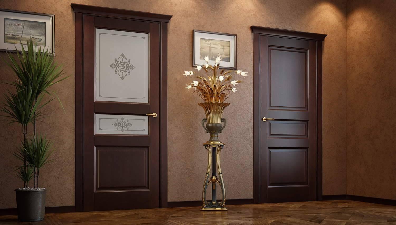 Межкомнатные двери из сосны: виды, модели, преимущества