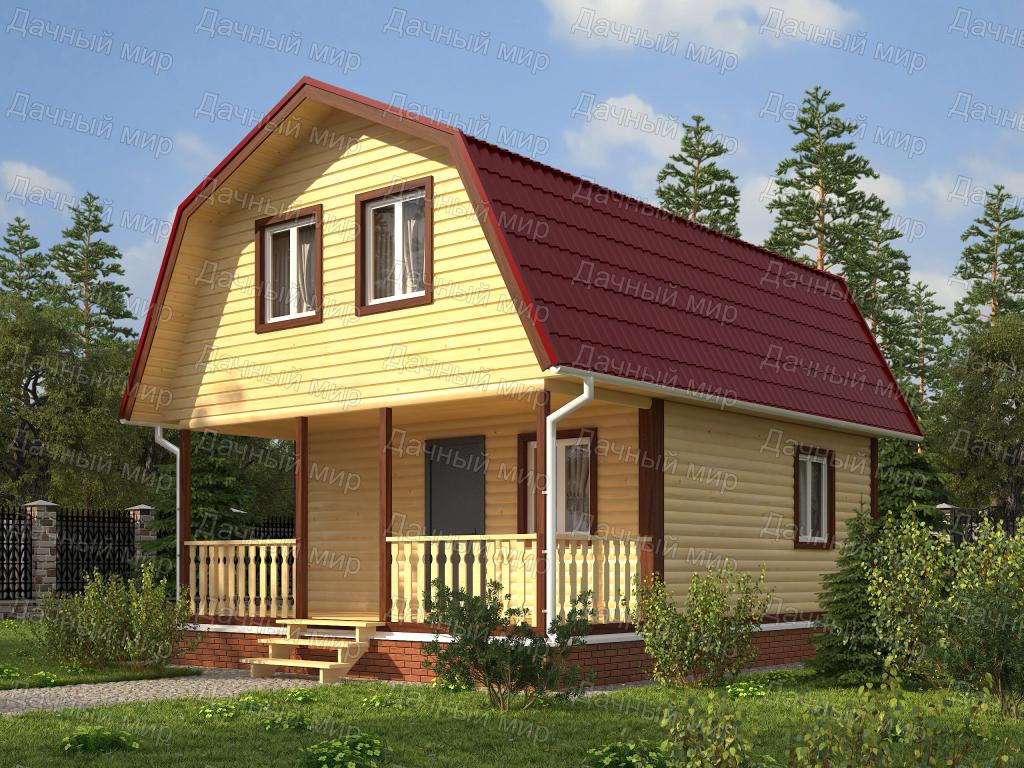 Каркасный дом площадью 6х6 (68 фото): проект своими руками - пошаговая инструкция, как построить свайный фундамент для одноэтажного коттеджа