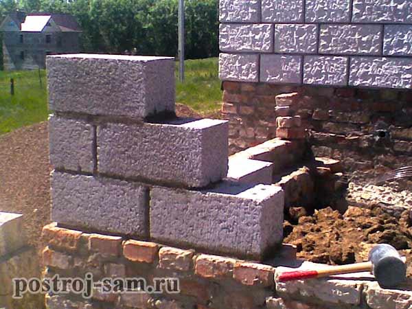 Как класть керамзитные блоки своими руками? - о строительстве и ремонте простыми словами