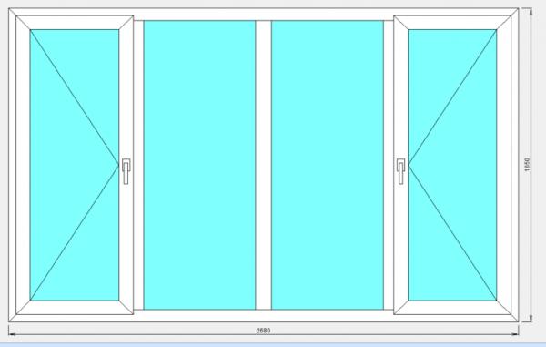 Размер окна стандарт: для домов разных типов