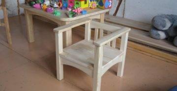 Детский стульчик своими руками: инструкция, чертежи и идеи декора (35 фото)