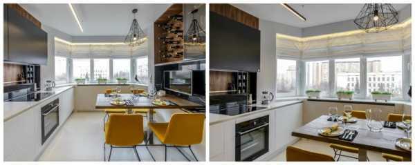 Кухня без верхних шкафов - 145 фото готовых идей оформления дизайна и планировки кухни