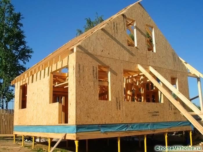 Каркасный дом своими руками: пошаговая инструкция возведения жилища